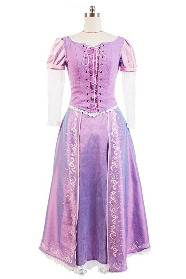 La Princesa Rapunzel vestido adultos para Halloween fiesta de ...