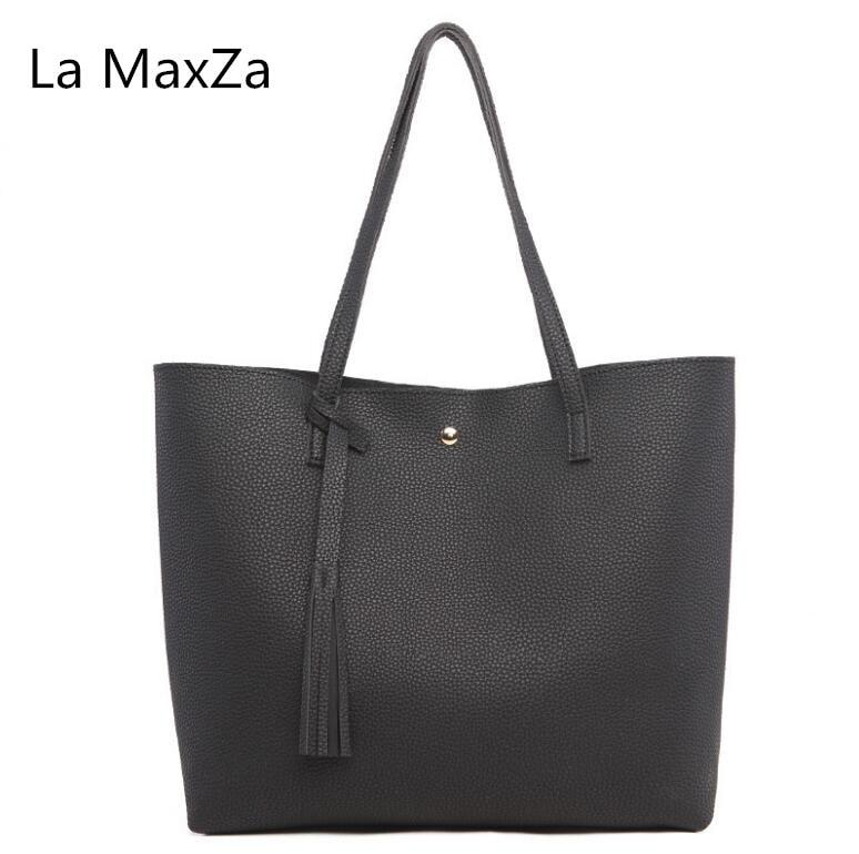La MaxZa 2018 Новая мода сумка личи шаблон frutto сумка PU большой емкости женская сумочка