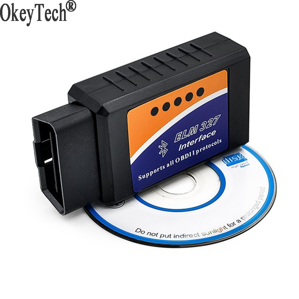 Mini Scanner ELM 327 V 2.1 Adaptateur Fonctionne Sur Android Elm327 Bluetooth V2.1 Interface OBD2/OBD II Car Auto Diagnostic Scanner
