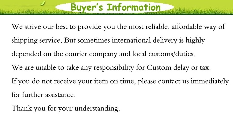 2 Buyer\'s information-