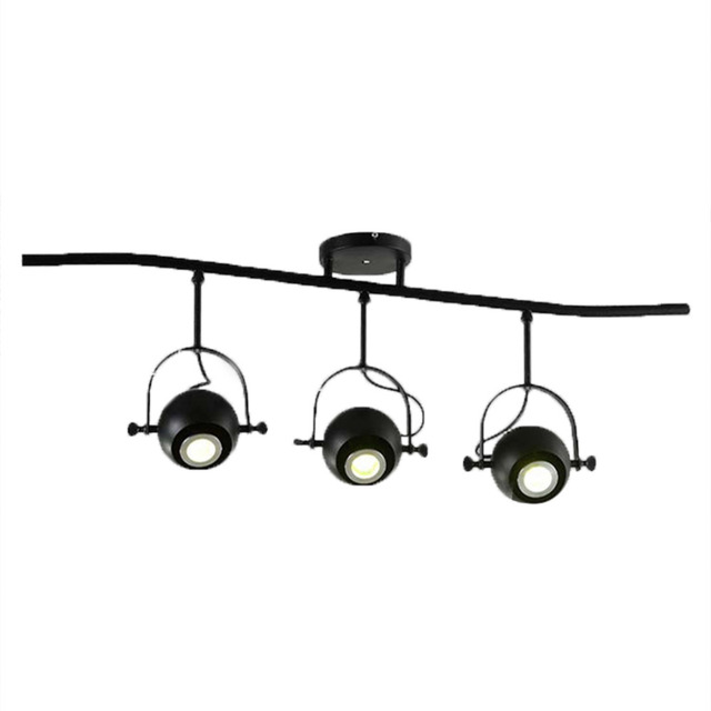 Homestia 240V 3 heads Hanging Lights Track L& light industrial style Spot Light Without Bulb Perfect  sc 1 st  AliExpress.com & Homestia 240V 3 heads Hanging Lights Track Lamp light industrial ...