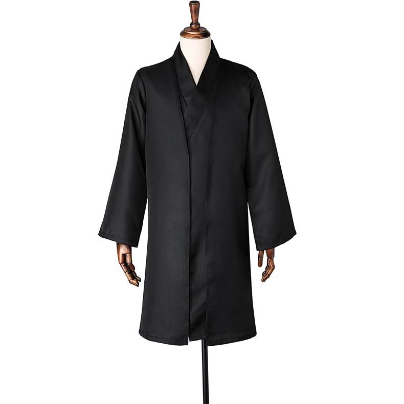 Halloween harr potters Lord Voldemort Black Uniform Cosplay Costume Halloween Stage Gift Drop Ship