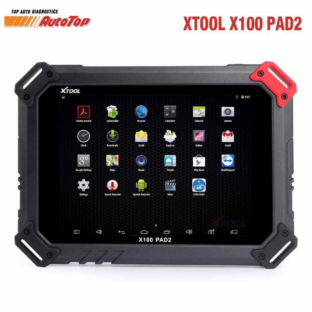 Hight Qulity XTOOL X100 PAD2 With EPB EPS OBD2 Odometer Auto Key Programmer XTOOL X100 PAD2
