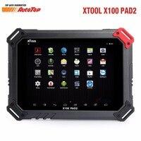 Yükseklik Qulity XTOOL X100 PAD2 EPB EPS OBD2 Kilometre Sayacı Ile Oto anahtar Programcı XTOOL X100 PAD2 daha iyi X300 Pro3 Ücretsiz Güncelleme