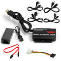 "UK/AU/EU Plug USB 3.0 to 2.5"" 3.5"" HDD Hard Drive SATA IDE Adapter Converter"