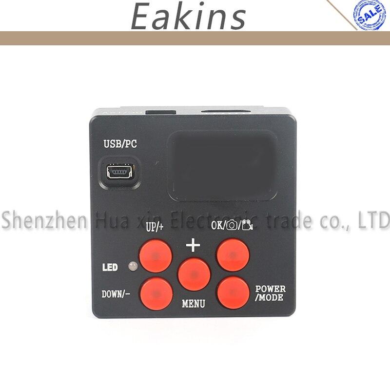 Eakins 21MP 1080 P HDMI Microscope caméra numérique industrielle caméra vidéo télécommande 4G TF carte photo enregistreur vidéo