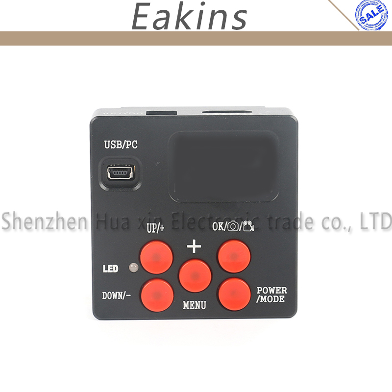 Eakins 21MP 1080P HDMI Microscope Camera Digital Industrial Video Camera Remote Control 4G TF Card Picture Video Recorder