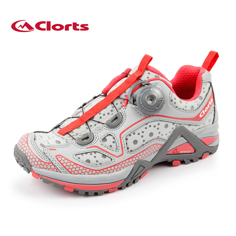 Clorts Women Lightweight Running Shoes BOA Imported Lacing System Sport Shoes Breathable Outdoor Running Sneakers 3F019E 2018 clorts men running shoes boa fast lacing lightweight outdoor sport shoes breathable mesh upper for men free shipping 3f013b
