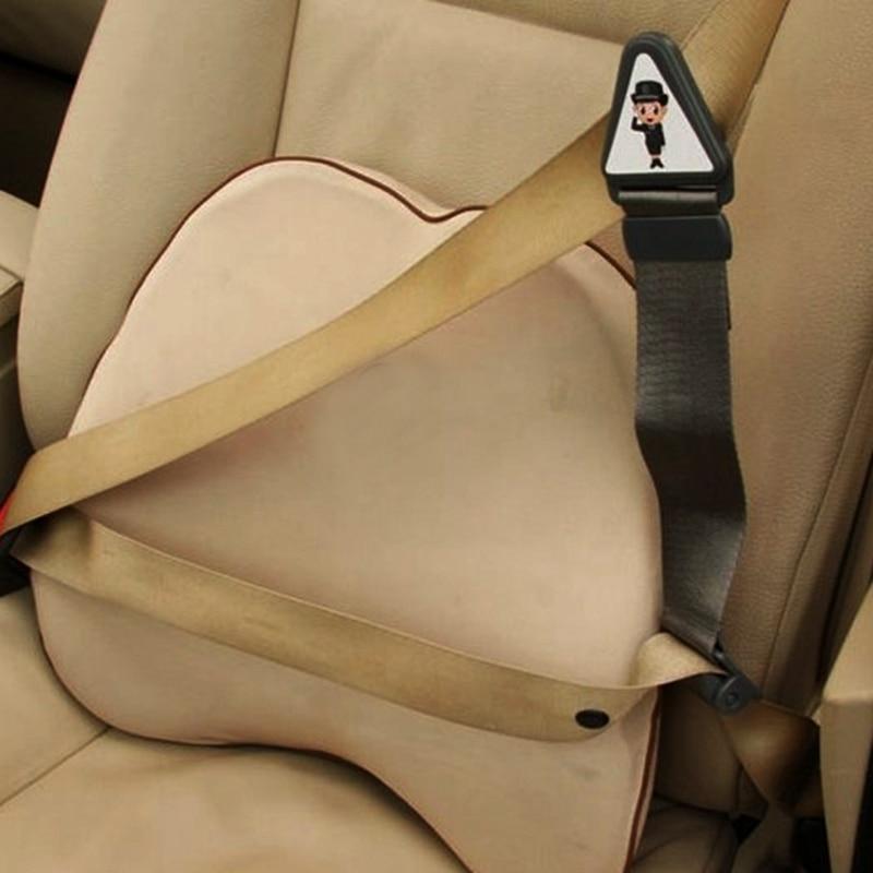 Safety Auto Car Seat Belt Adjuster Adjustable Lock Buckle Strap for Children Kids Safety ...