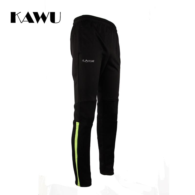 KAWU sports running pant with zipper pockets jogging homme survetement football soccer training 6xl mens sweatpants S17004