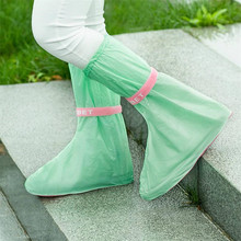 Reusable Rain Shoes Cover Women/Men/ Children Thicken Waterproof Boots Cycle Rain Flat Slip-resistant Overshoes Free Shipping