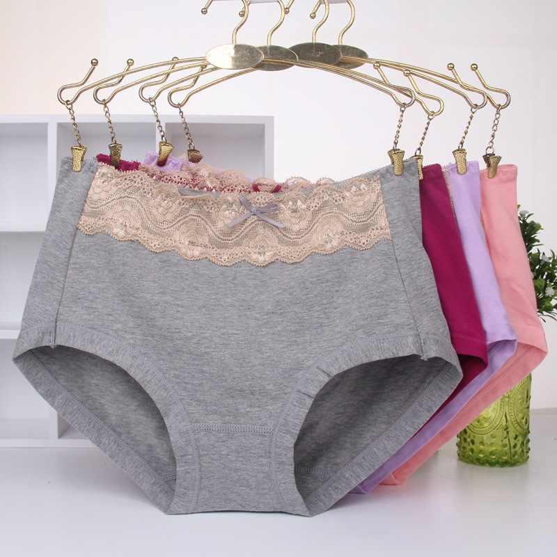 5d3aec6225f6 Women's Modal Briefs Plus Size High Waist Panties Ladies Underwear Butt  Enhancer Calcinhas Braga Underware For