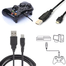 1 M Panjang Usb Kabel Charger Bermain Pengisian Cord Line untuk Sony PlayStation PS4 4 Kontroler Nirkabel Hitam(China)