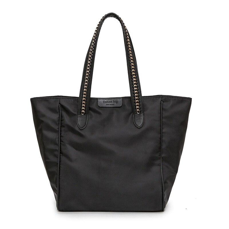Neue Mode Große Kapazität Nylon Tote Tasche Weibliche Handtasche Frauen Bolsas feminina Schulter Shopper Taschen Weekender Taschen