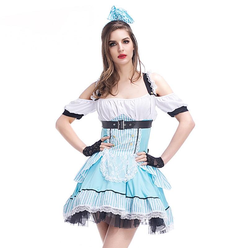 Sexy Alice in Wonderland Cosplay Costumes Women