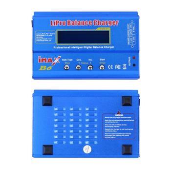 Chargeur Imax B6ac | Nouveau IMAX B6 LCD écran Numérique RC Lipo NiMh Batterie Balance Chargeur + B6AC Lipo Charge XT60/T Fiche Adaptateur Carte 2-6 S
