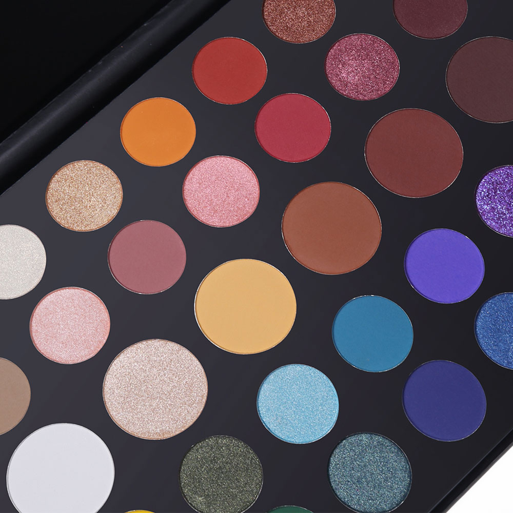 Changeble 39 Colors Glitter Metallic Eyeshadow Palette Shimmer Matte Nude Makeup Smooth Natural Brilliant Beauty Eye Shadow in Eye Shadow from Beauty Health