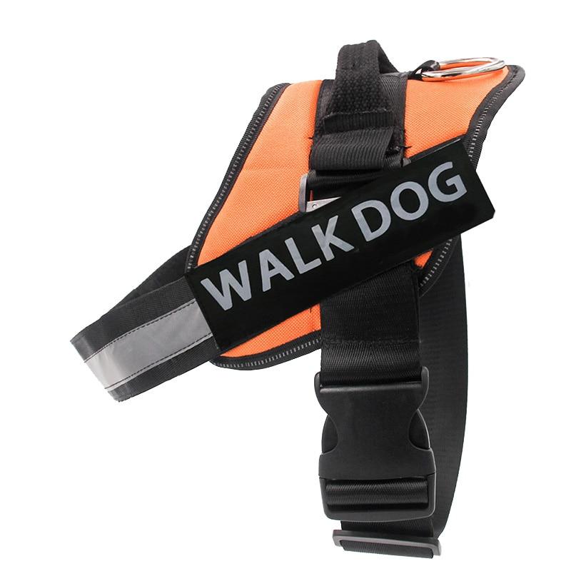 Dog Harness Breathable Pet Harness Vest Dog Collars for Small Medium Big Dog Nylon Dog Lead Belt Pitbull Bull Terrier Rottweiler3