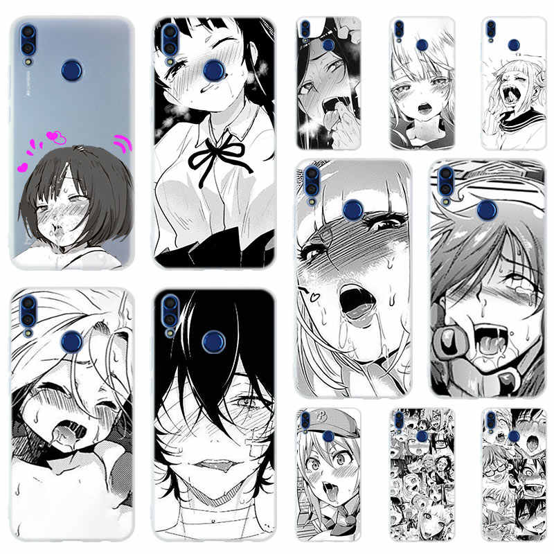 Anime girl cartoon japan Silicone Phone Case Cover For Huawei Honor 9 10 Lite 6X 7X 8X Max  7A 8A 8C V20 PLAY 9i Hot