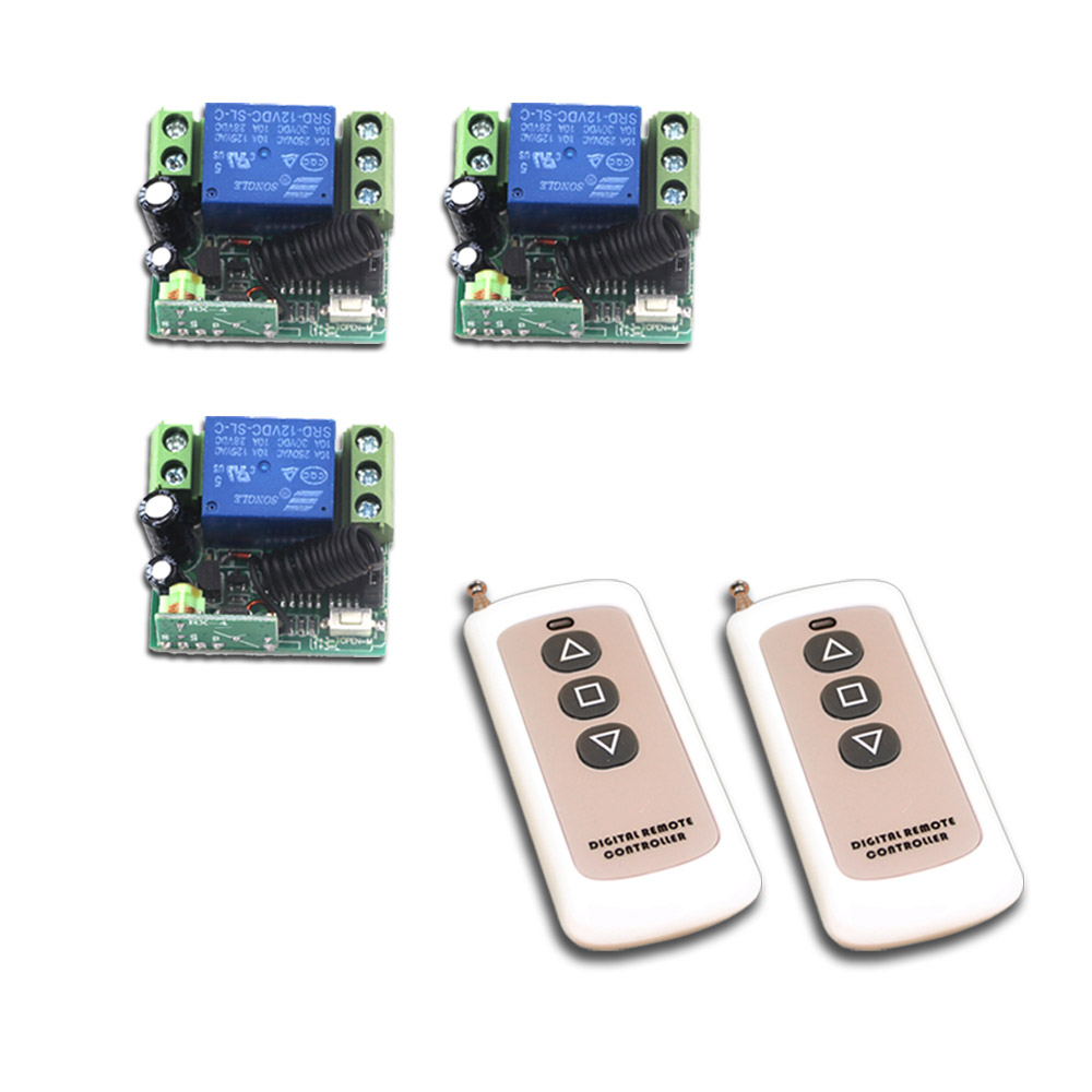 DC 24V Wireless Remote Control Switch Mini 12V 1CH 10A Relay Receiver Remote Plug Teleswitch 315Mhz / 433Mhz 315 433mhz 12v 2ch remote control light on off switch 3transmitter 1receiver momentary toggle latched with relay indicator