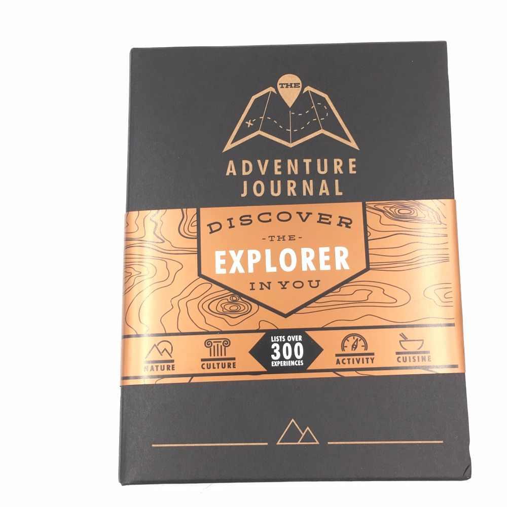Travel Logue trip Fun trip scratch map book creative art painting creative  adventurer Journal gift record perfect moment