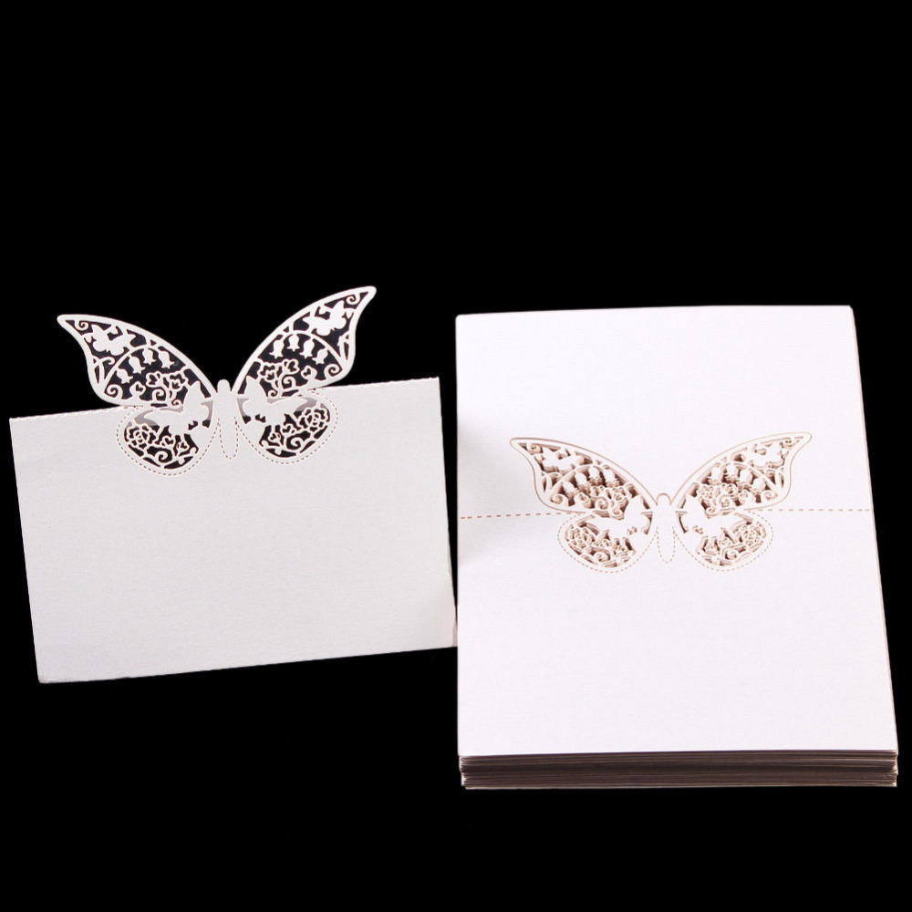 Buy wholesale wedding supplies 50pcs for Table place cards