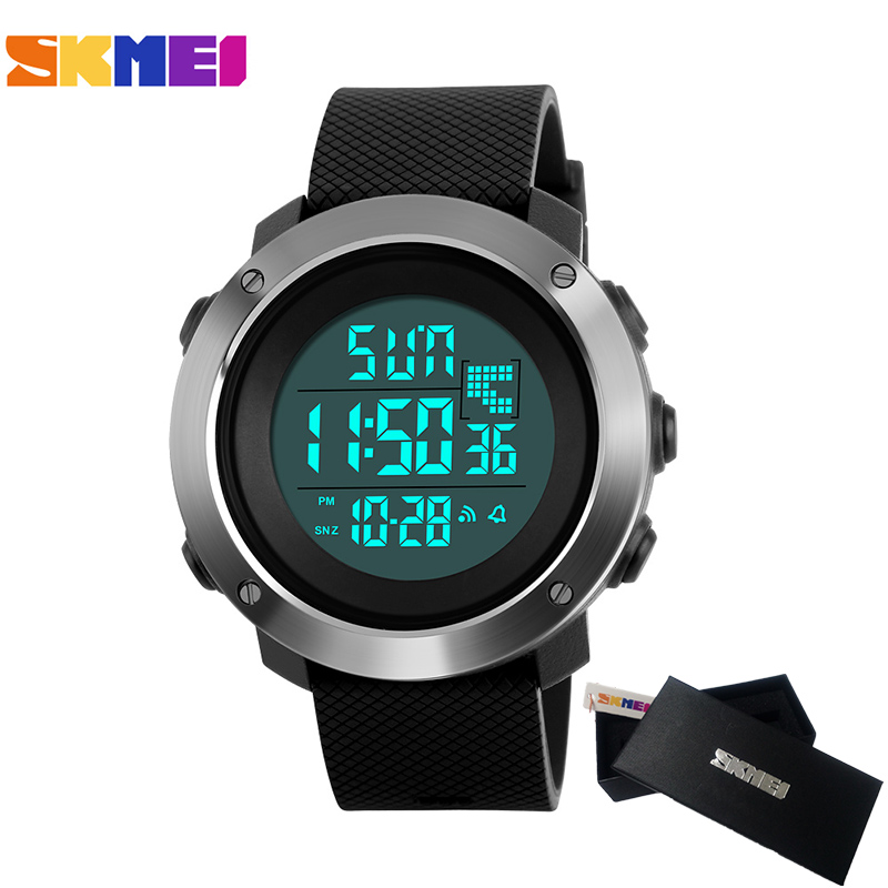 SKMEI Men Woman Digital Military Watch Mens Watches Top Brand Luxury Clock Female Dress LED Sports Watches relogio masculino все цены
