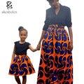 Летом 2016 Леди довольно батик одежда Женщина Африке юбки Девушки традиционный батик печати юбки высокое качество