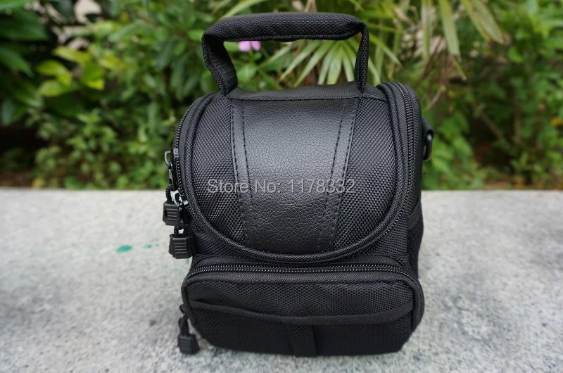 Waterproof Messenger Carrying Camera Camcorder Black Case Cover Shoulder Bag Shoulder Strap for Nikon Digital Camera