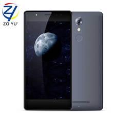 Leagoo T1Plus Mobilephone 4G LTE Android 6.0 Smartphone 3GB+16GB MT6737 Quad Core 5.5HD 13.0MP 2660mAh Fingerprint ID Cell Phone