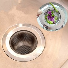 1PC Stainless Steel Sewer Filter Bathroom Drain Outlet Kitchen Sink Filters Anti Clogging Floor Net Accessories