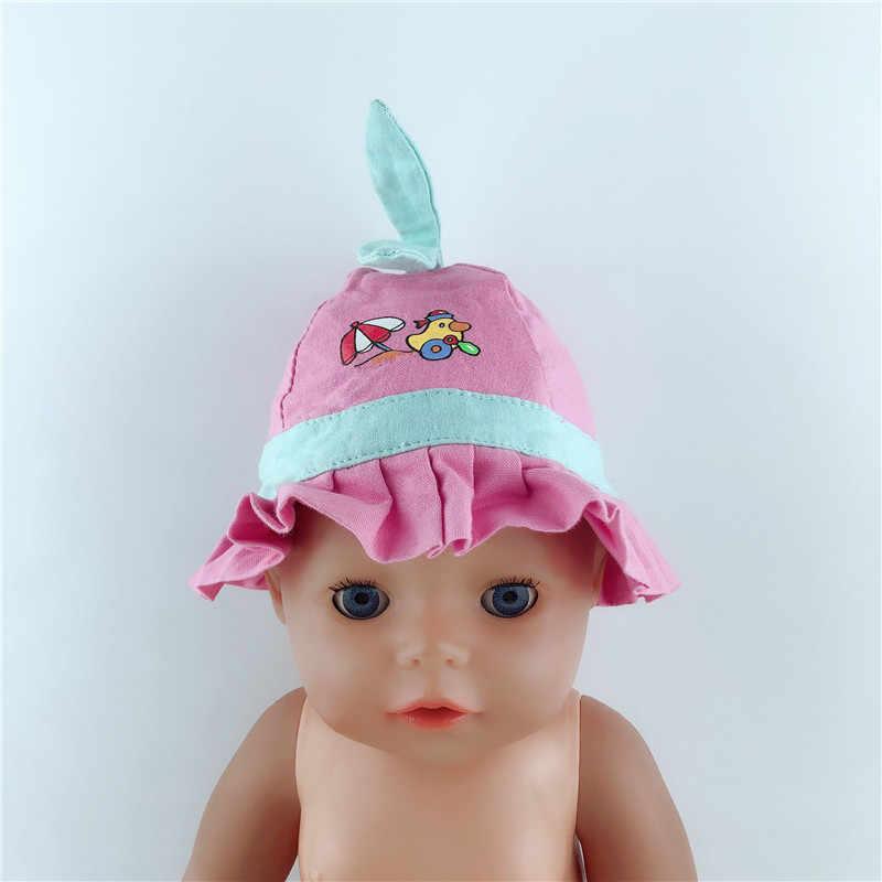 6 стилей выбрать шляпу Кукла одежда подходит 43 см дети лучший день рождения маленький подарок