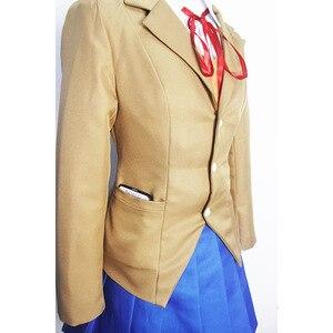 Image 3 - Doki Doki Literature Club Monika Sayori Yuri Natsuki Cosplay Costume School Uniform Girl Game Costume