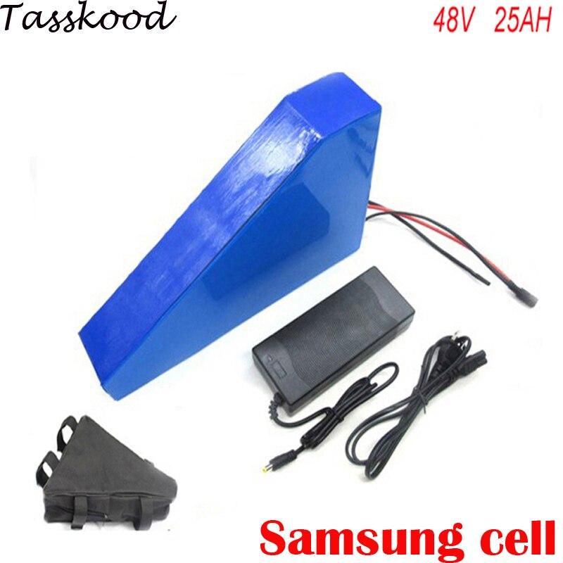 48v 25ah lithium ion battery for 48v bafang 750w 1000w motor font b electric b font