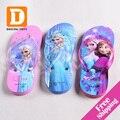 Nuevo Verano Pantufas de Dibujos Animados Para Niños Zapatillas Niños Zapatillas de Moda Zapatillas de Casa Las Niñas Playa Sandalias Zapatos Para Niñas Size24-35