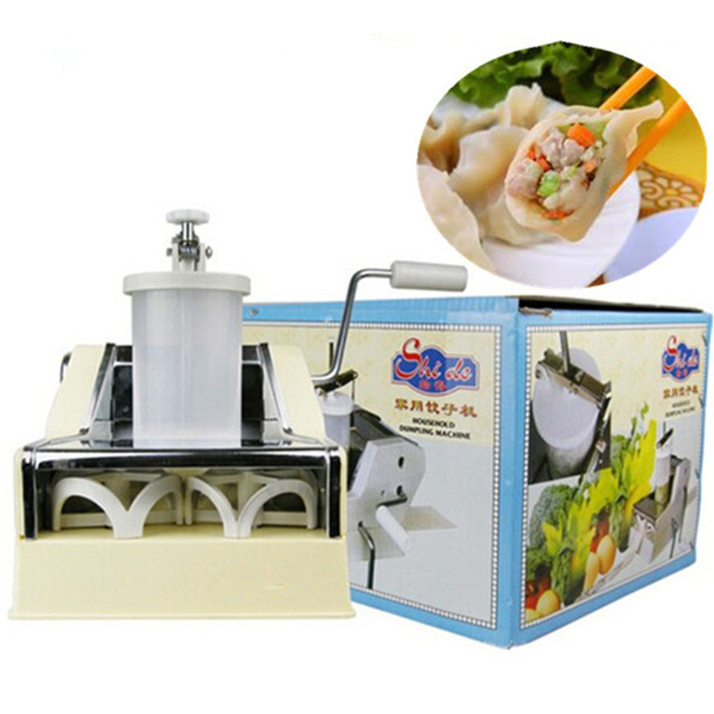 Household dumpling machine multifunctional small hand dumpling making forming machine maker high quality household manual hand dumpling maker mini press dough jiaozi momo making machine