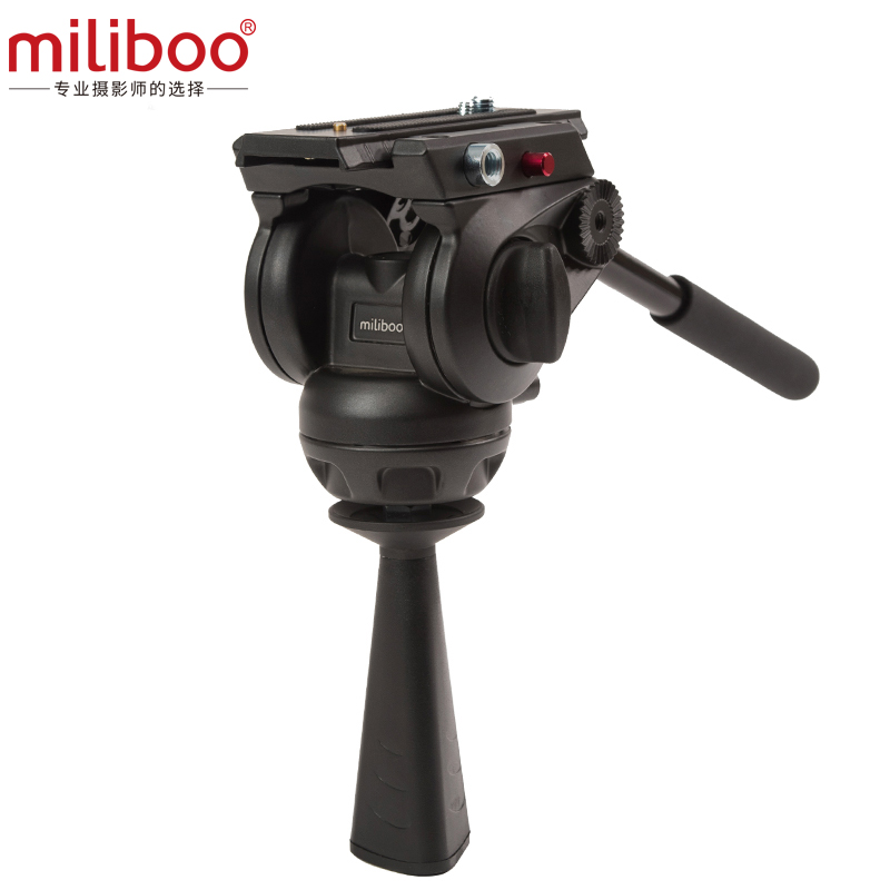 miliboo MYT802 Base Flat Fluid Head with 75mm Bowl Size for Camera - Camera and Photo