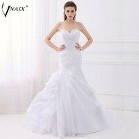 WV276 Popular Simple But Elegant Organza Mermaid Wedding Dress 2014 Vestido De Casamento