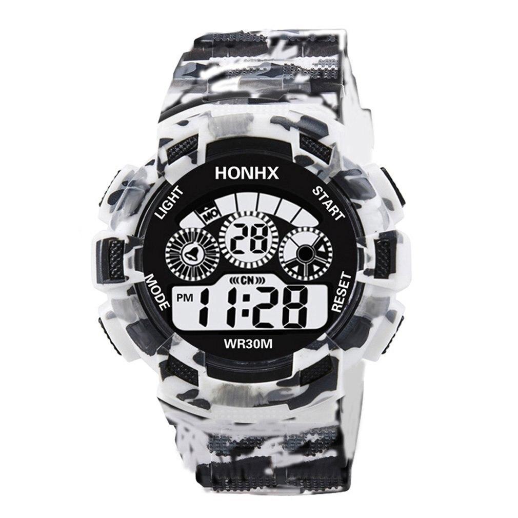 Electronic Men Watch LED Digital Date Week Alarm Waterproof Military Shock Watch Fashion Outdoor Sports Clock Watch