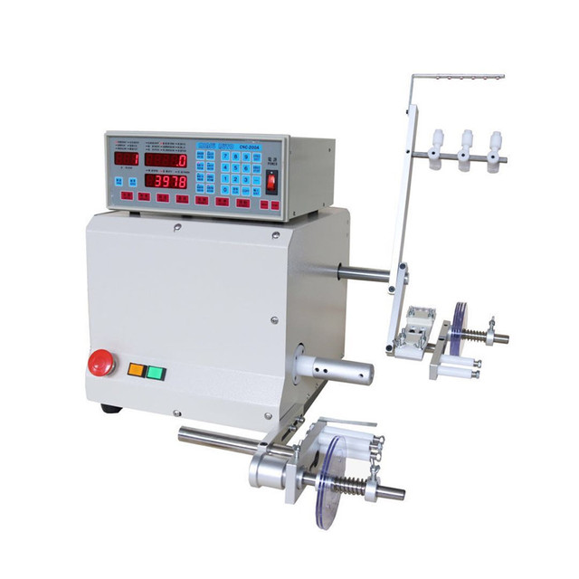 High Quality CNC Electronic Winding Machine Computer C Automatic Coil Winder Winding Machine for 0.03-1.2mm Wire 220V/110V