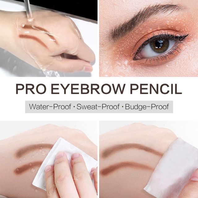 SACE LADY Eyebrow Pencil Makeup Professional Eye Brow Pen Make Up Tint Waterproof Eyebrow Paint Shade Natural Brand Cosmetics 4