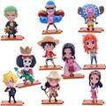 12 cm de 10 pçs/set figuras de ação Anime PVC brinquedos figuras coleção brinquedos AnnO00521A