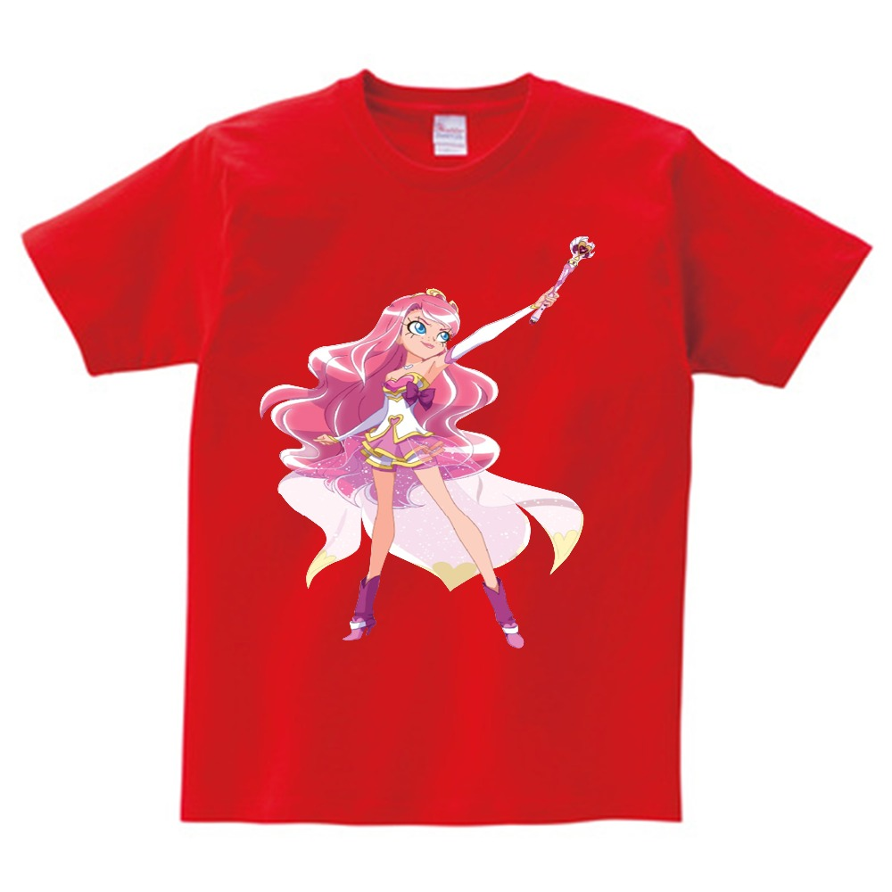 Lolirock Magical Girl Children T Shirt  Lovely   Funny Teeshirt Boys Girls 2019 Leisure  Short Sleeve Tops Tee For Baby  Nn