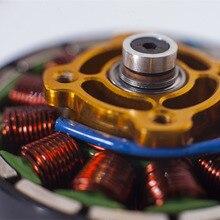 Motor sin escobillas para Dron cuadricóptero multirrotor, Motor sin escobillas KV340 KV280, 1/4/5010 Uds