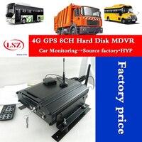 8ch mdvr GPS 4 Gam thời gian thực Đầy Đủ HD D1 H.264 hard disk hdd Mobile DVR Car xe buýt/xe tải MDVR nhà máy
