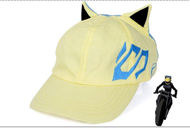 2016 chapéu novo durarara! / Drrr Sturluson Celty padrão chapéu de basebol anime periféricos HAT HT104