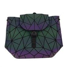 Bao Women Backpack Luminous Drawstring Female Daily Backpack