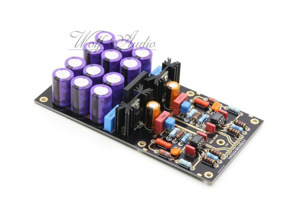 Platine DE montage double MM platine Phono préampli HiFi platines Phono carte amplificateur