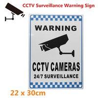 Предупреждение ющий знак безопасности видео наблюдения камера безопасности знак рефлекции металлический алюминий