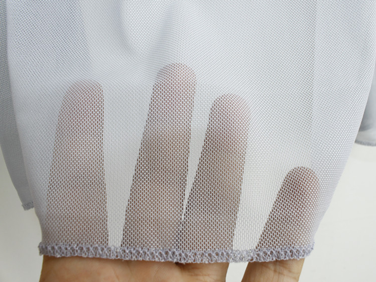 Gran Aire Nuevo Camisa Cárdigan Malla Verano Transparente blanco azul Solar gris Fina Largo Femenina Chal Acondicionado De Marino Negro Protector FgqqXW17